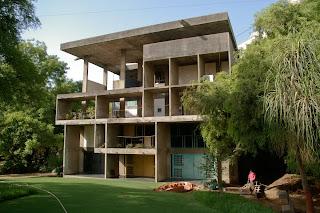 Casa en la India. Le Corbusier