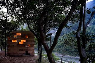 Microarquitectura en madera