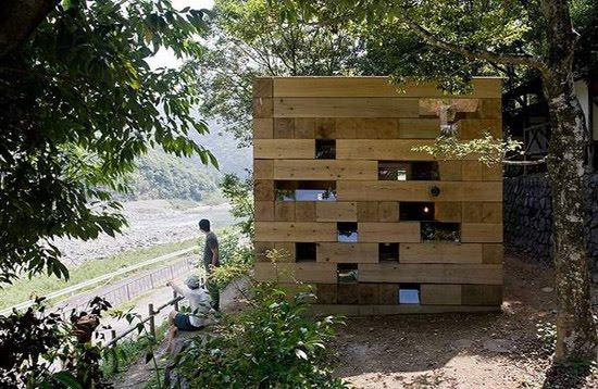 Microarquitectura La Casa De Madera Definitiva De Sou