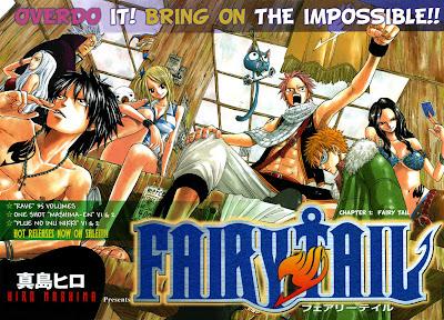 Novedades Anime en Octubre Fairy-tale