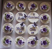 FONDANT WEDDING CUPCAKES