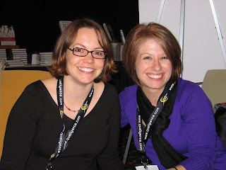 Kari and Laurie at the 2008 Kennedy Conference in Orlando, Florida