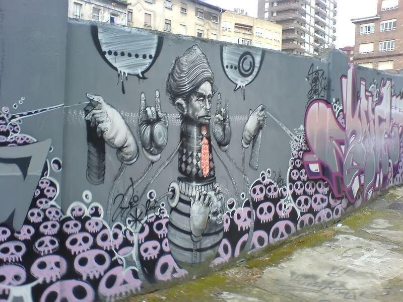 Unos buenos graffitis y dibujos