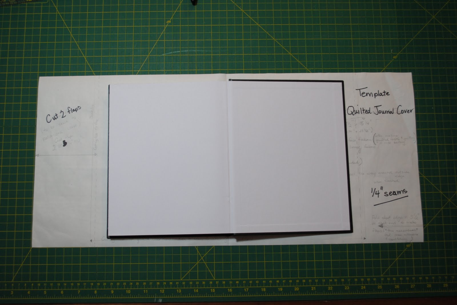 how to make a journal cover with paper