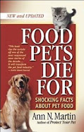 Food Pets Die For Book Ann N. Martin