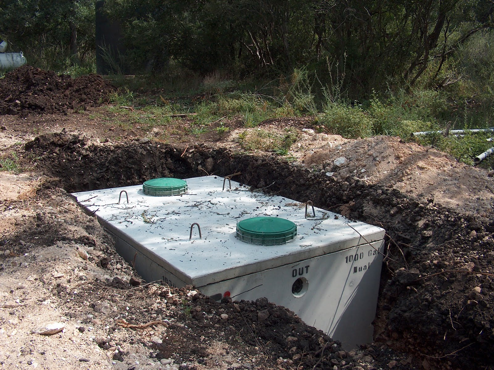 How to build septic tank home design for How to build a septic tank