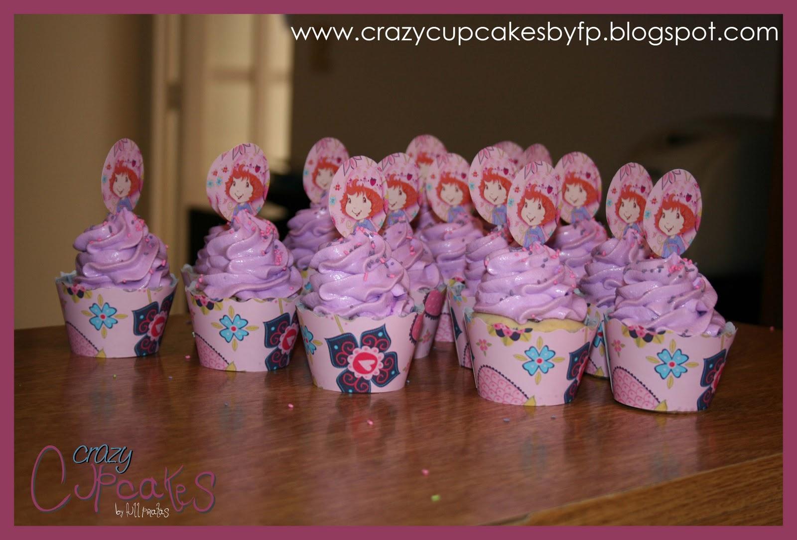Crazy Cupcakes: Cupcakes Ben 10 y Frutillita