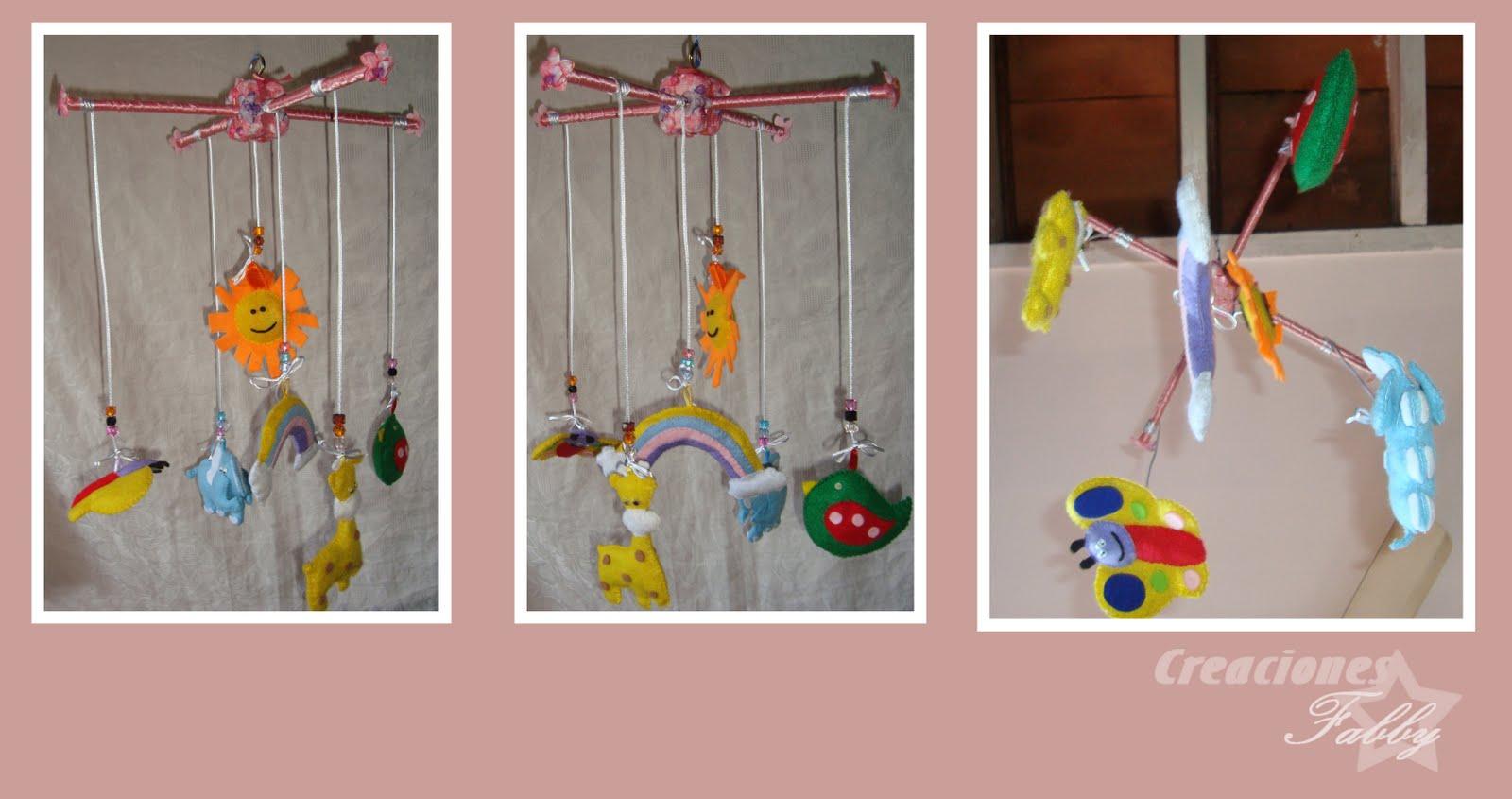 Moviles para bebés de fieltro - Imagui