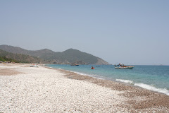 La plage d'Olympos à 60 mn de Finike