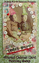 Altered Cabinet Card