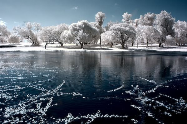 Beautiful Infrared Landscape Wallpaper Seen On  www.coolpicturegallery.us