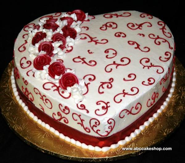 Valentine S Day Cake Images : Cool High Quality Pix: 30 Valentine s Day Cakes Romantic ...