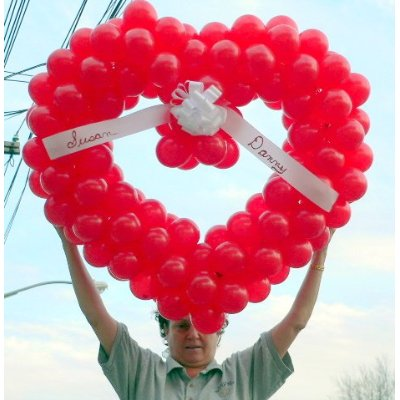 This Valentine's Day Beautiful Balloons