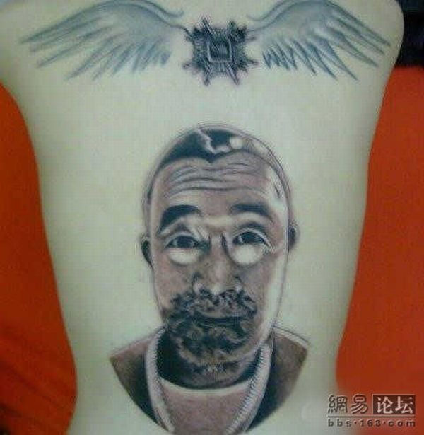 Amazing Unusual Tattoo Seen On Wwwcoolpicturegalleryus 600x615px