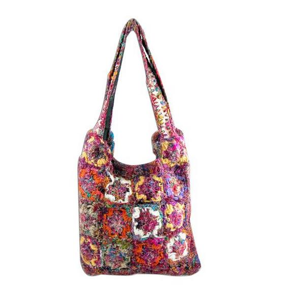 Romantic Patchwork Handbag Seen On www.coolpicturegallery.us