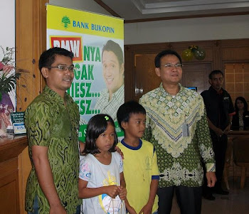 HUT Bank BUKOPIN di Kota Cirebon