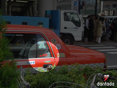 taxi japan by dantada