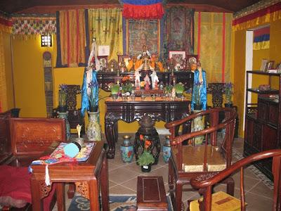Digital Tibetan Buddhist Altar Tibetan Altar Tibetan Shrine Tibetan Choshom