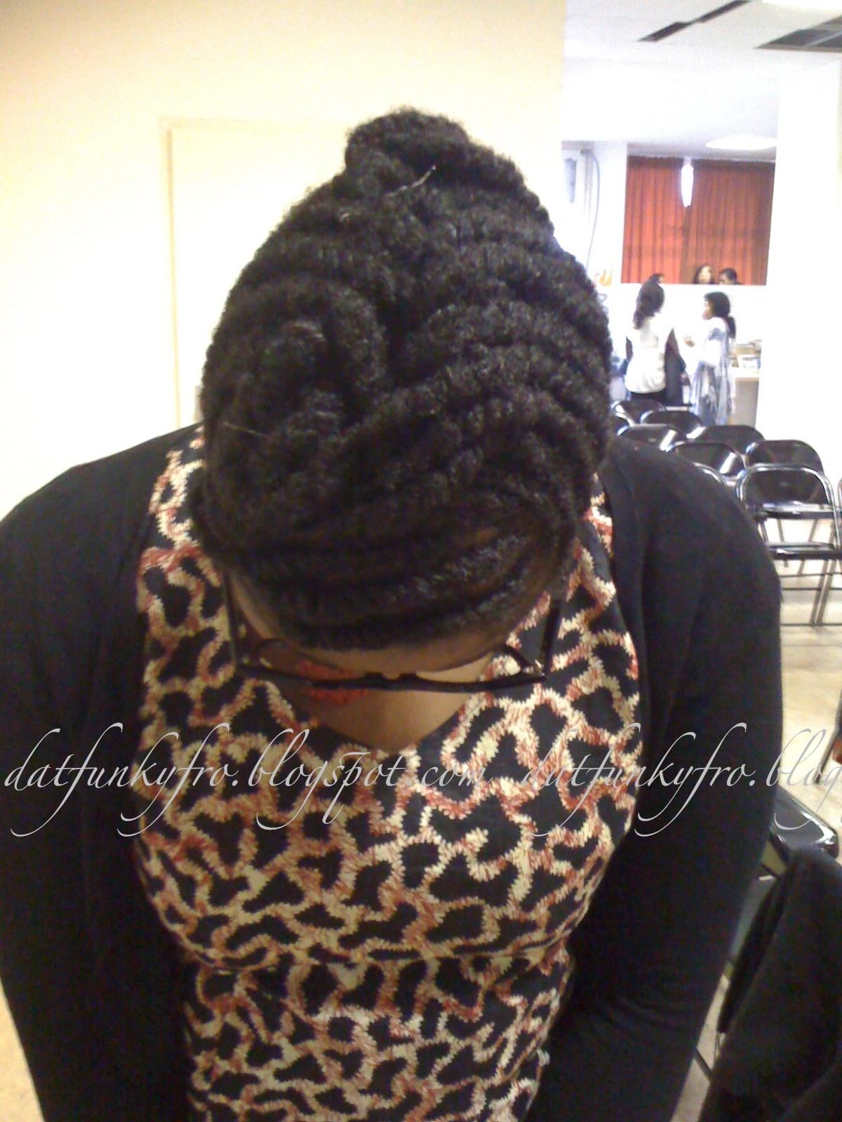 Side Flat Twist Natural Hair