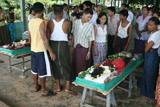Some good deeds performed by the Free Funeral Services Society (Yangon) (FFSS)
