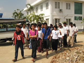 >Kyaw Thu – FFSS Yangon Activity (27th November 2010)
