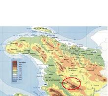 Localisation de la zone montagneuse où se trouve Fonbleu