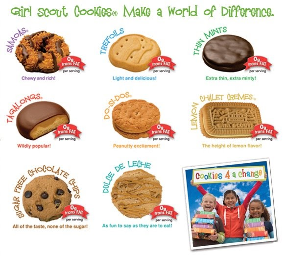 Girl scout vendant des cookies
