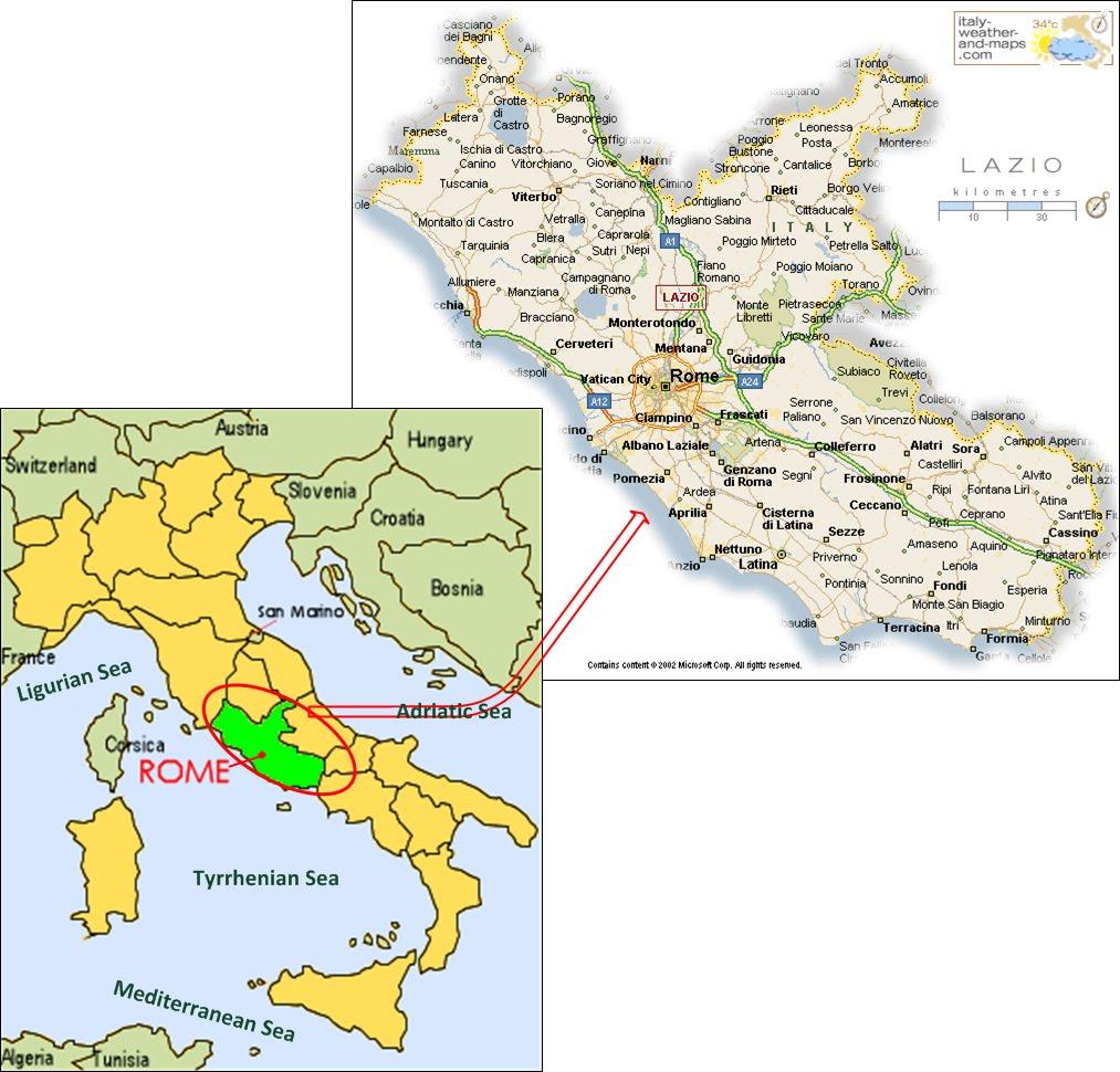International Study of RERegions Lazio Region Italy