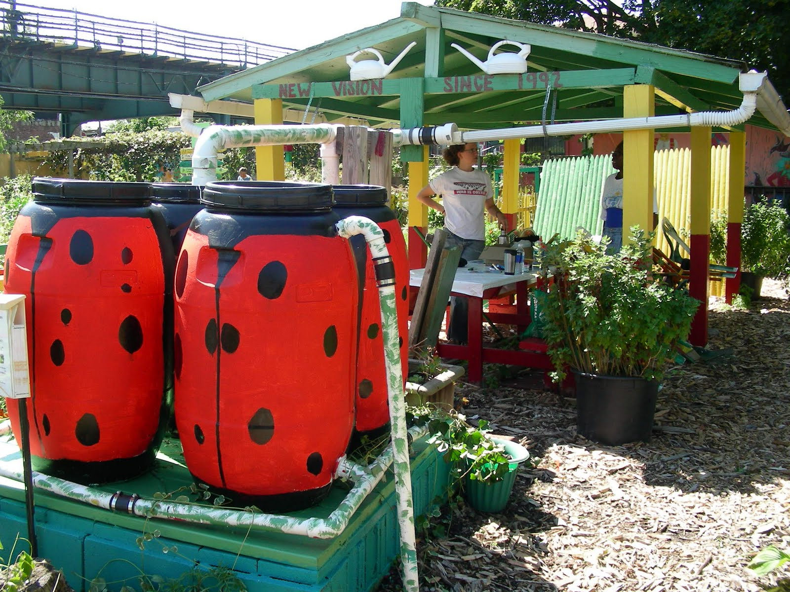 commmunity gardening Art and the Community Garden