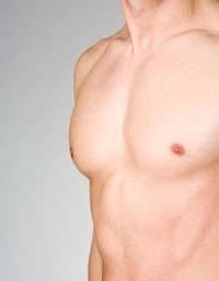 mama de homem sem ginecomastia