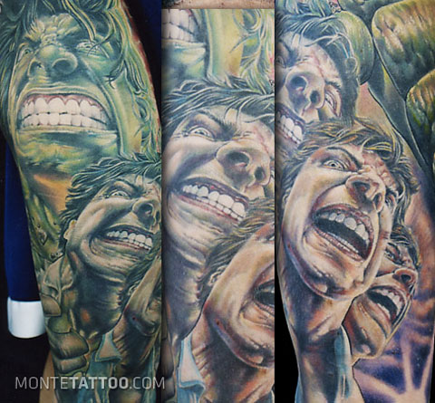 Cool Or Crazy Comic Book Tattoos!
