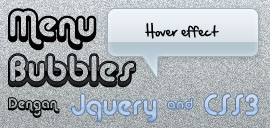 Membuat Menu Bubbles Dengan Jquery Dan CSS3