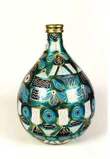 Armonia la leggenda del vetro - Damigiane decorate ...