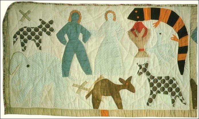 Art Threads: Friday Inspiration - Harriet Powers' Story Quilts : harriet powers bible quilt - Adamdwight.com