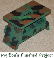 Project of the Month Club Step Stool Project