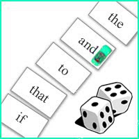 Sight Word Path - Dice Variation