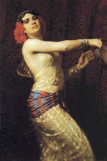 Dançarina e o Tamborim !