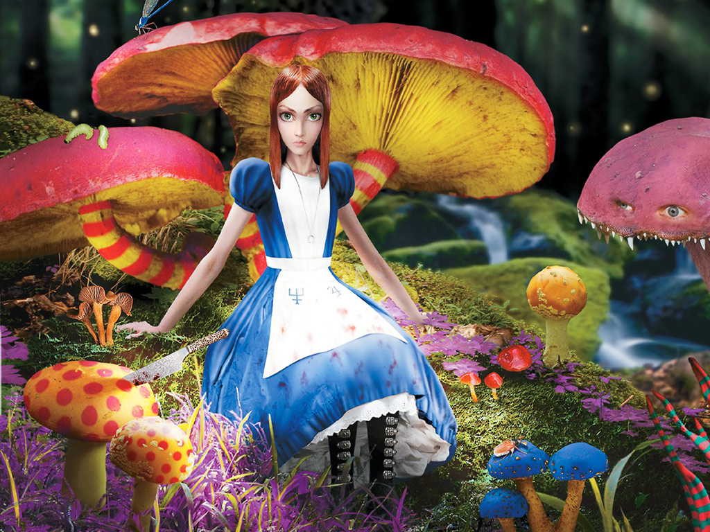 alice in wonderlan Commemorating the 150th anniversary of alice's adventures in wonderland with  a deluxe oversized hardcover edition, illustrated in full color by anna bond.