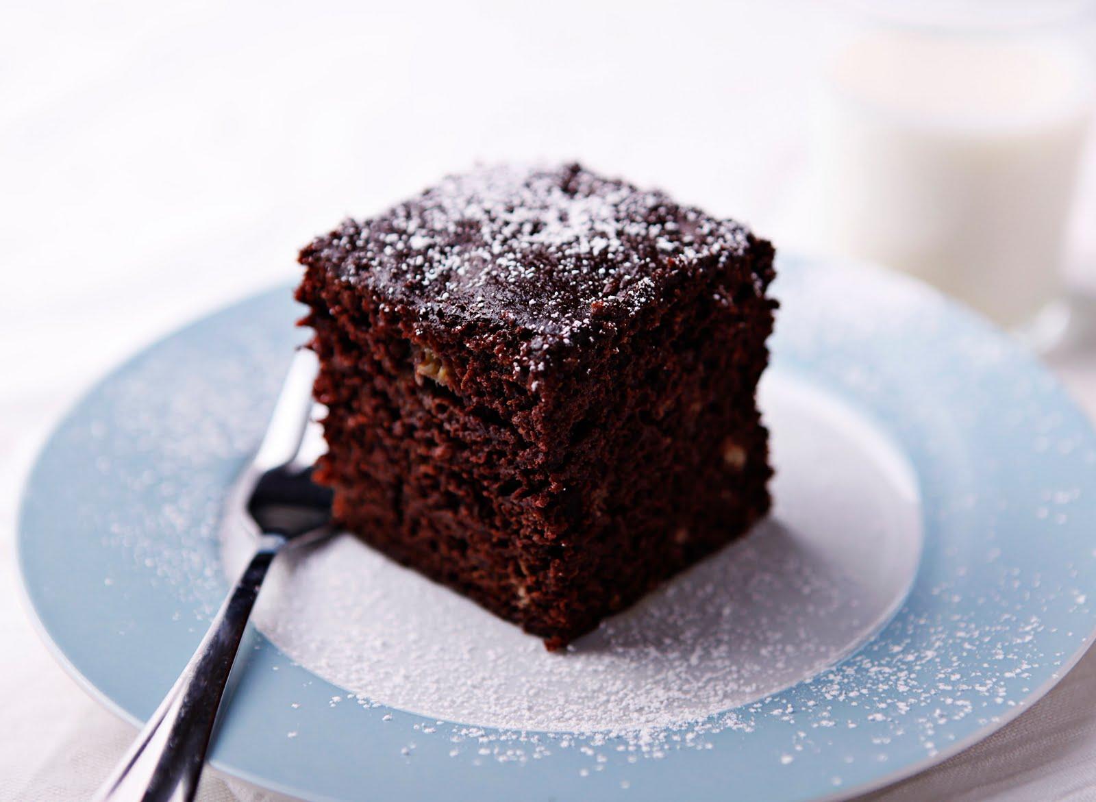 Banana chocolate snack cake recipe