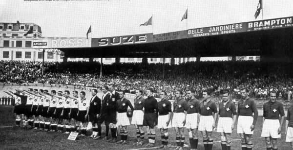 Alemania vs Suiza, 1938