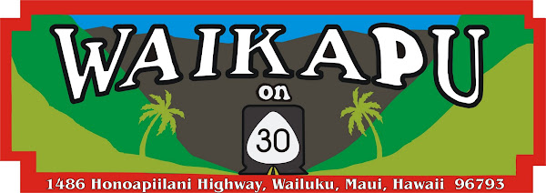 Waikapu On 30 Restaurant,Hawaiian and Local island style food,sandwich's,shaved ice,Maui,Hawaii