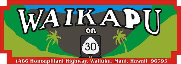 Waikapu On 30 Restaurant,Hawaiian and Local island style food,sandwich's,shaved ice,Maui,Hawaii