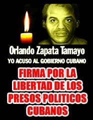 Firma por la libertad de los presos politicos cubanos