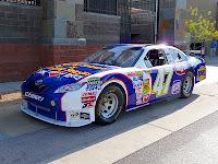 Marcos Ambrose NASCAR on display