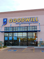 Goodwill store and donation center in North Phoenix, AZ