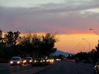 Sunset in Phoenix, June 1st, 2009