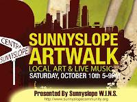 Sunnyslope Art Walk October 10th, 2009