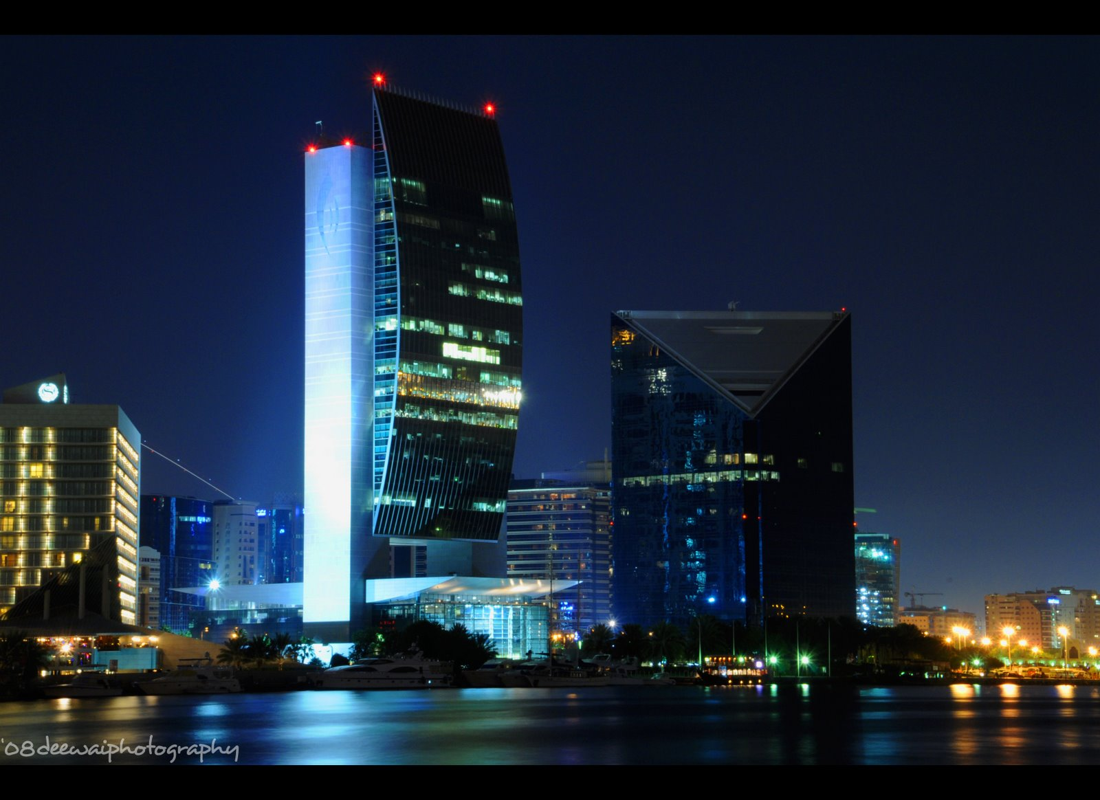Elegant #COMPLETED: NATIONAL BANK OF DUBAI, 16F Com, 125m (Dubai Creek, Deira)    SkyscraperCity