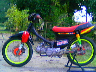 Inilah motor honda EX5 yang gue gunakan dulu semasa giat dalam arena  title=