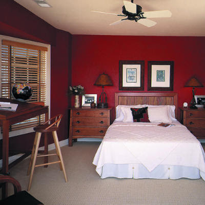 Palatial Living: Interior Shades of Red Colour Styling With Red.